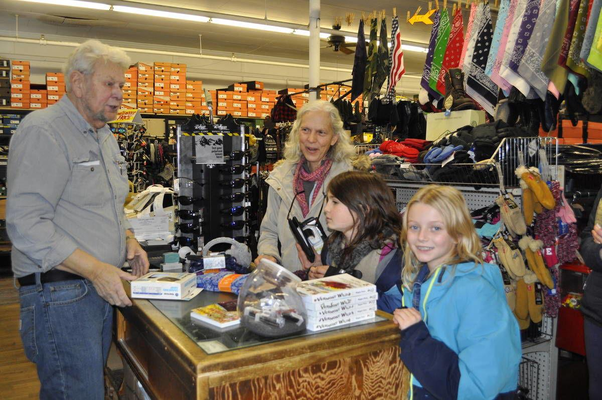 Holiday Shoppers Support Local Business On Black Friday