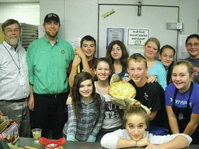 LTS student make pies for fundraiser