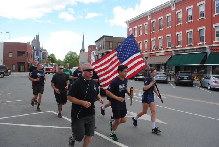 Police run through nek for special olympics news for Northeast motors lyndonville vt