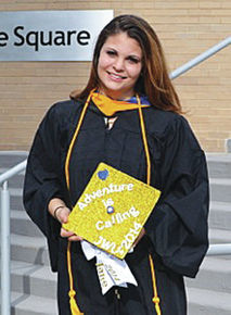 Jane Foster earns degree at Johnson and Wales University