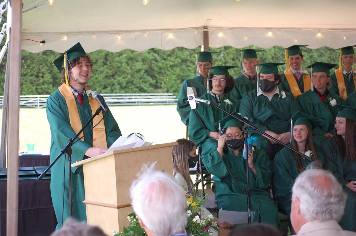 Class of '21's Individuality, Diversity Celebrated At Danville Graduation