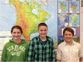 Joseph DePalma Wins Daisy Bronson Middle School Geographic Bee
