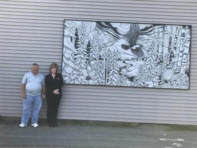 Local Artist Creates Mural For Business