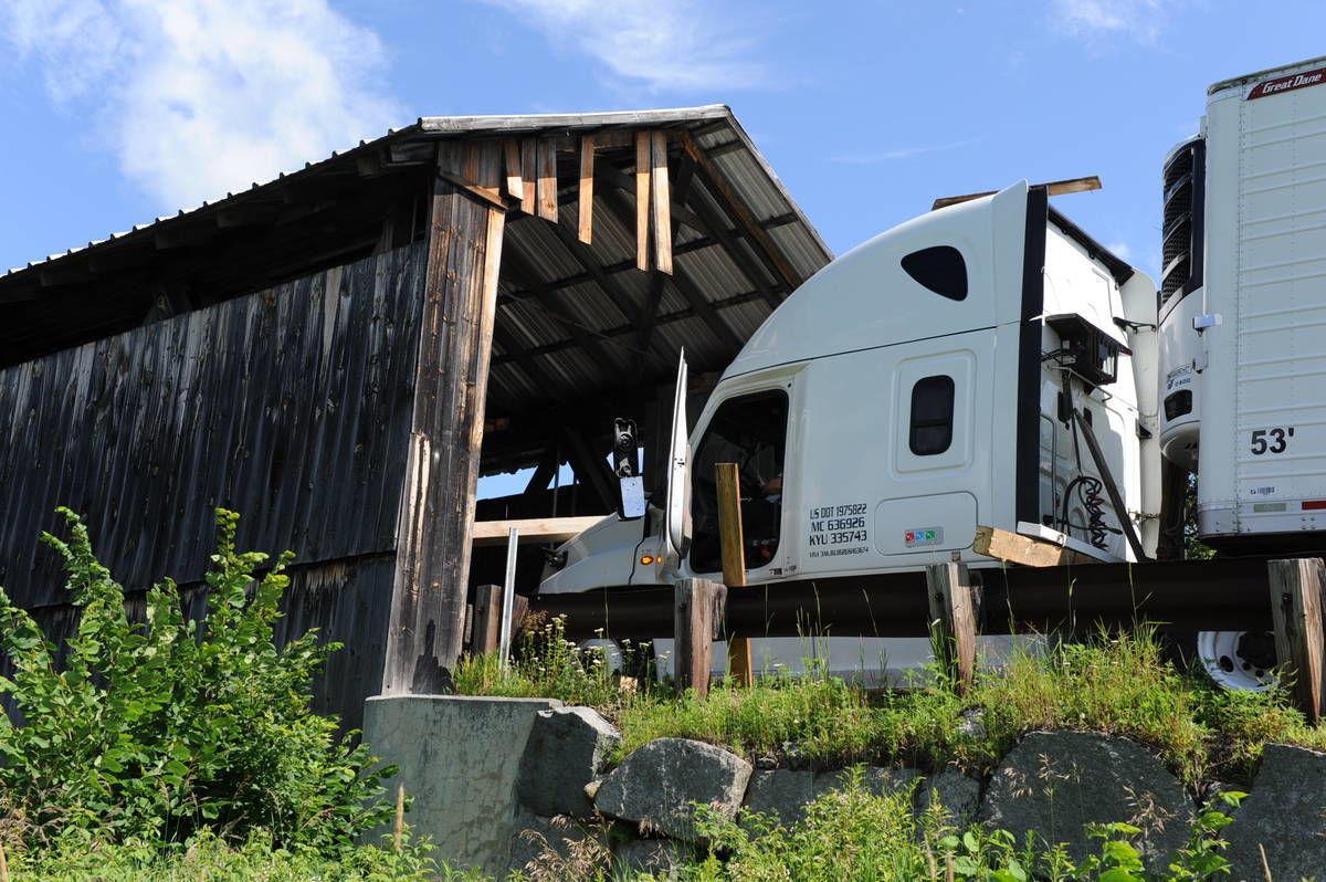 Lancaster:Mt. Orne Bridge Faces Costly Repair After Truck Hit