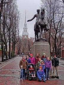 Caledonia Christian students take educational trip to Boston