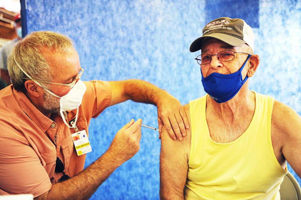 """""""I Want To Be Among People"""": 145 Vaccinated At Lancaster Fair Grounds Clinic"""