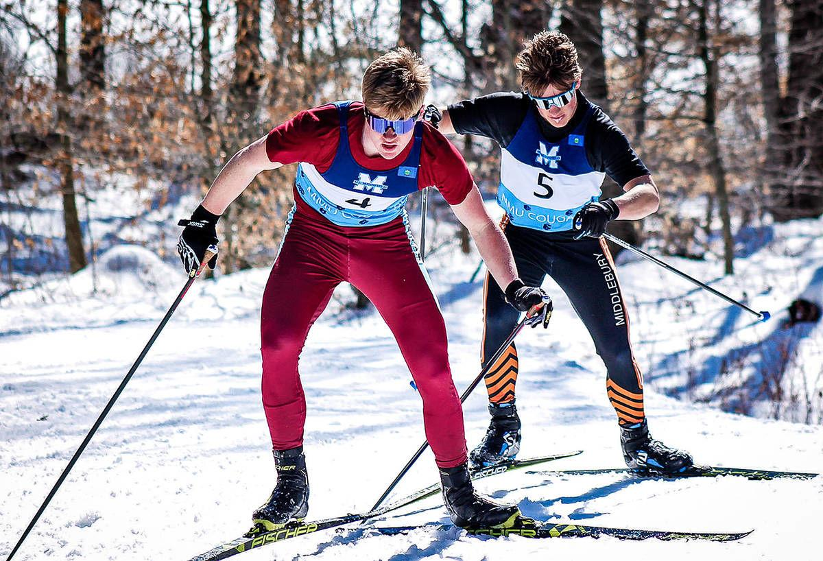 North Country Union's Jack Young: The Record's 2019-20 Nordic Skier of the Year