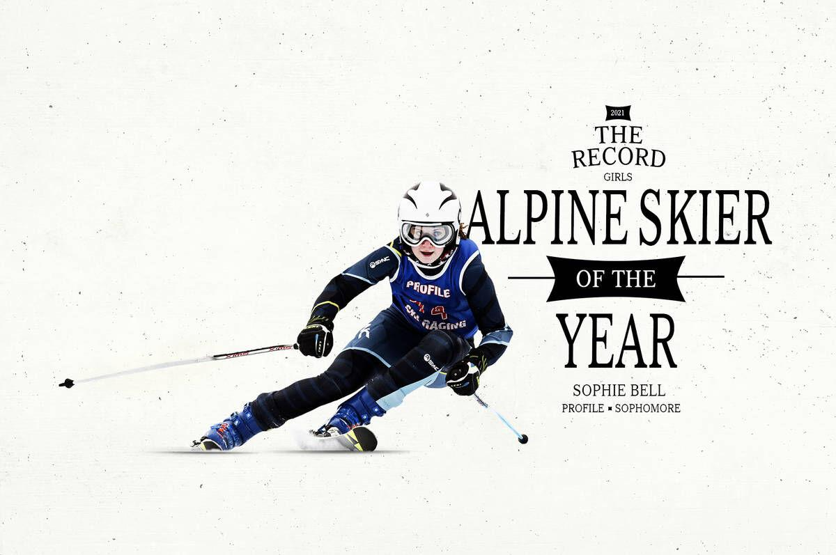 Profile's Sophie Bell: The Record's 2021 Girls Alpine Skier Of The Year