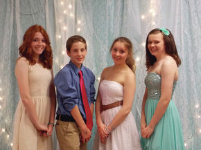 Whitefield Elementary holds semi formal