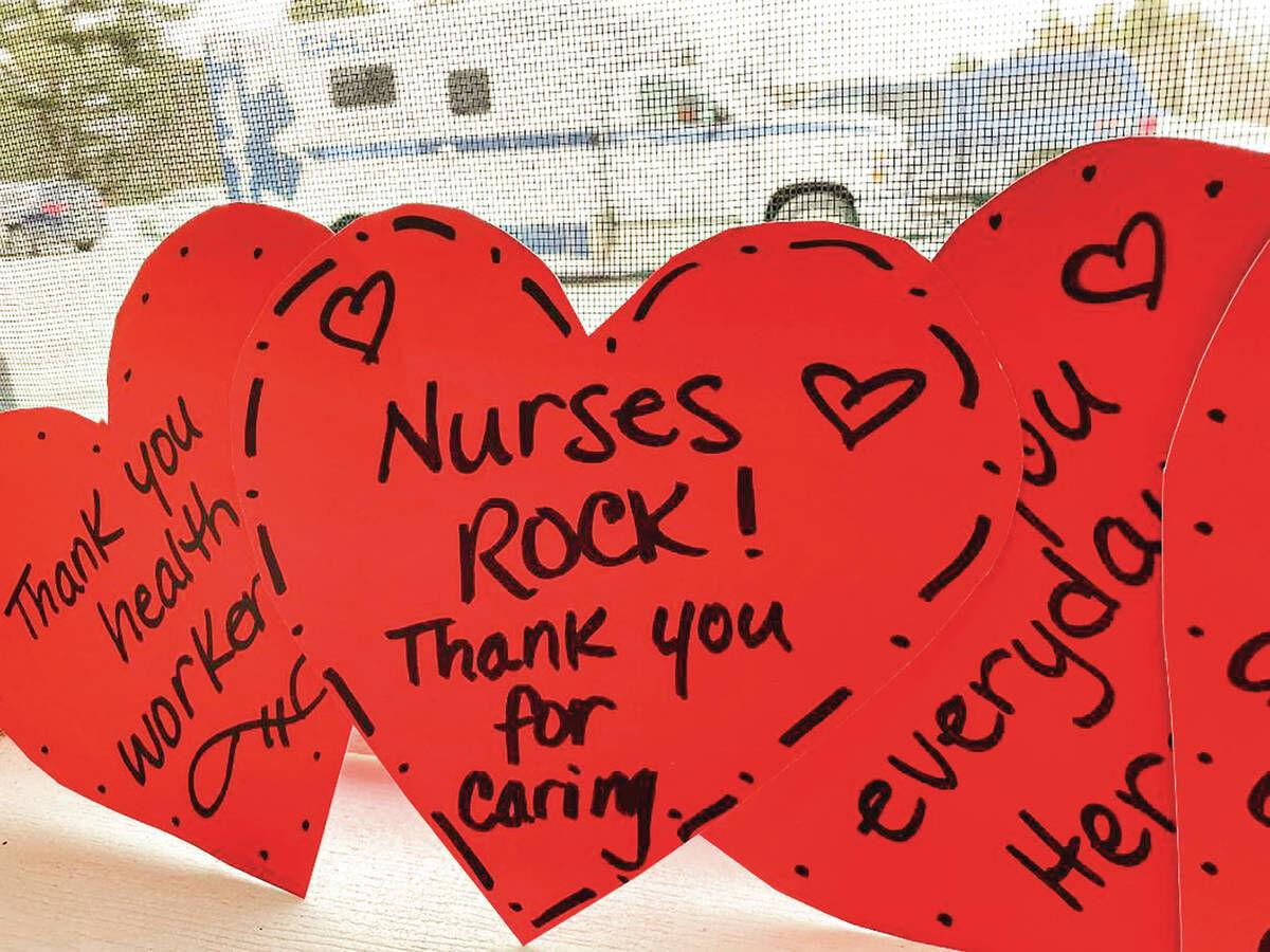 Showing Love To Workers In Long-term Care Facilities