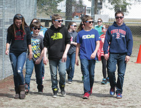 "Burke Town School ""Walk for Lunch"" Day"