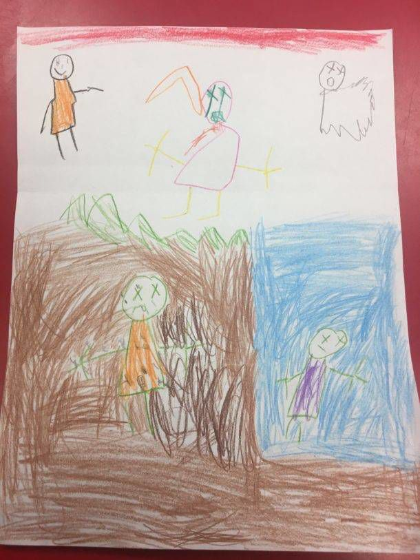 For Drawing A Picture, A 6-Year-Old Was Suspended For 10 ...