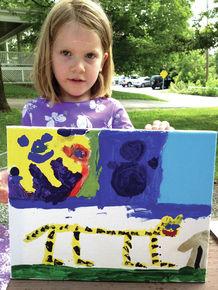 Balch Nature Camp Students Showcase Art