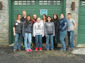SkillsUSA students provide community service during competition