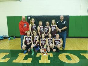 2013 St. J Rotary Basketball Tournament Runners Up Teams
