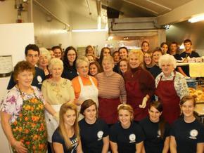 National Honor Society Celebrates Thanksgiving At The Littleton Senior Center