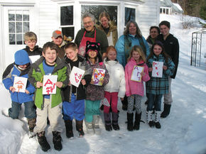 Grant From Vermont Rural Partnership To Be Used For Artist Residency Program At Peacham School