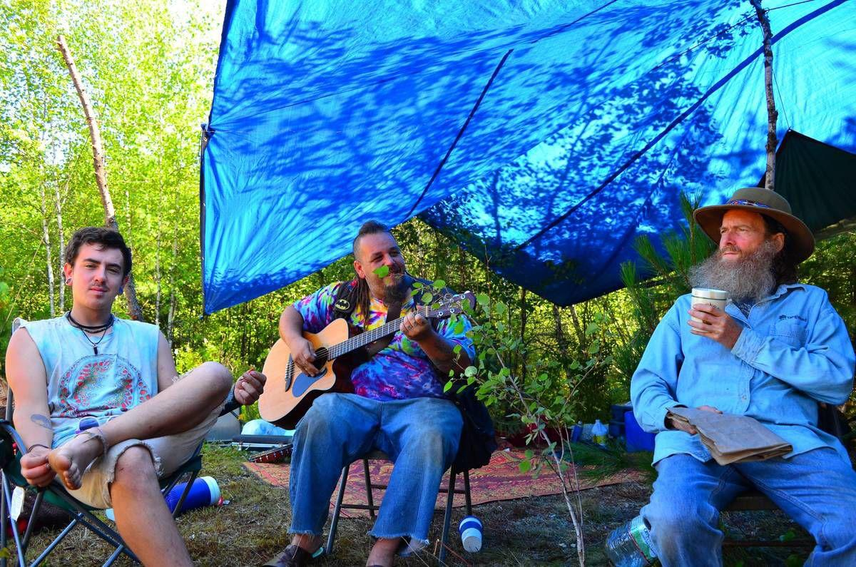 Counter-Culture Rainbow Family Camp Draws People From Across Nation To Bethlehem