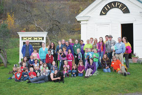 Concord School Students Visit Dog Mountain