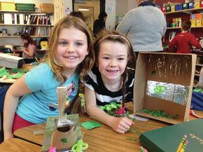 St. Johnsbury School students build Leprechaun traps
