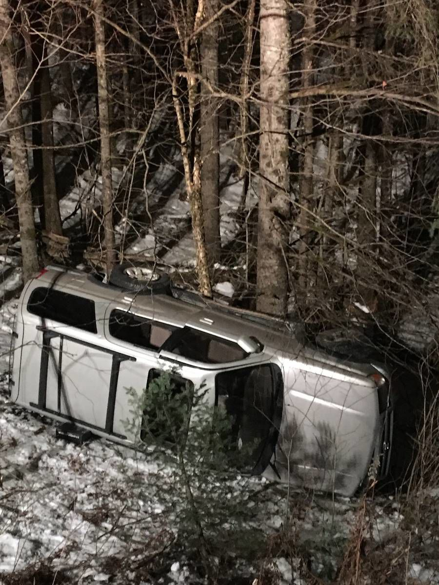 Off Road And Overturned