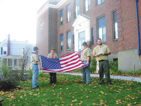 Eagle Scout Project Flagpole Dedication Ceremony Takes Place At UCA