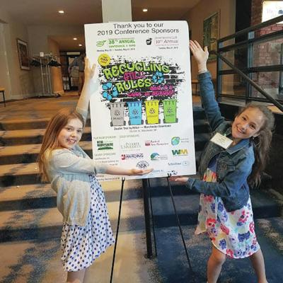 Lancaster Students Attend Recycling Conference