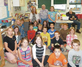 101-Year-Old 'Gram Surridge' Shares Life Experiences With Burke Third Grade