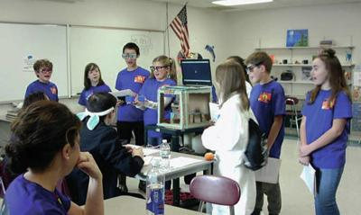 Lafayette Regional Students Participate In FIRST LEGO League Competition