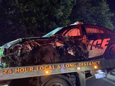 Newport Cruiser Crashes During High-speed Pursuit
