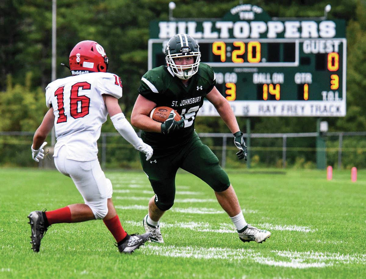 H.S. football: Hutchison at home as a Hilltopper