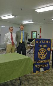 is winner of St. Johnsbury Rotary Community Service Award