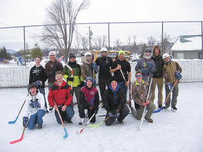 NCUHS PE classes experience the Winter Games