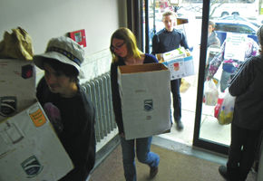 Champlain College Students Experience Giving And Receiving In The NEK