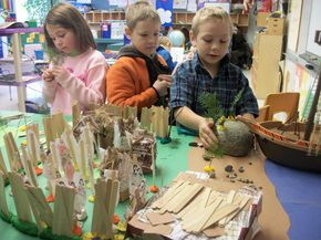 Miller's Run Students Get Ready For The Holidays