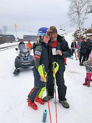 Shiffrin Does World Cup Prep At Burke