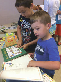 Lunenburg children enjoy books through CLiF