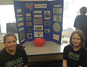 Good Shepherd Catholic School Students Hold Geography Fair