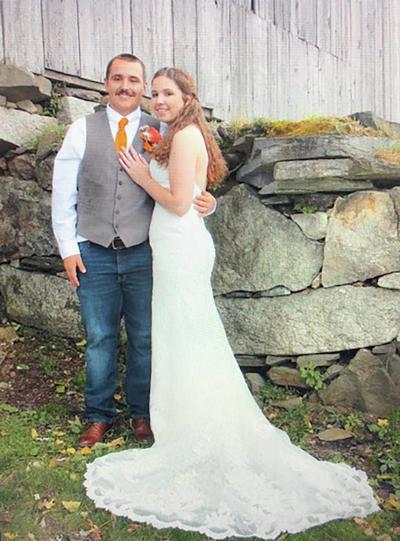 Coleton Laura-Bumps and Alyssa Cote Wed