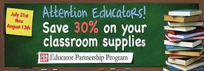 Ocean State Job Lot Offering 'Educator Partnership' Savings