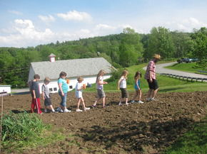 Glover Community School Garden Receives Infrastructure Grant