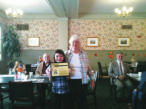 Young Girl Honored For Volunteering At Meals On Wheels