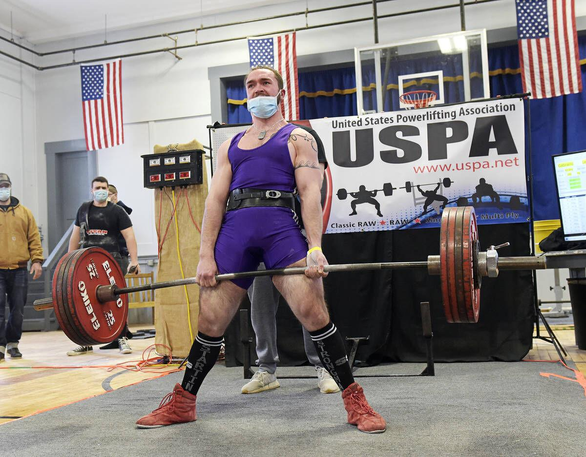 Power Lifting Competition Raises Spirits