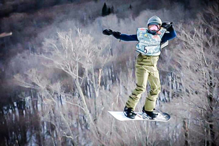 North Country Union's Haley Goff: The Record's 2019-20 Snowboarder of the Year