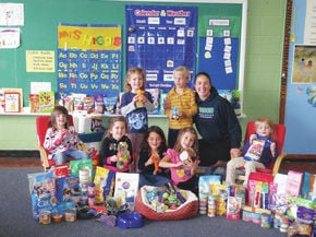 Good Shepherd students collect donations for animals