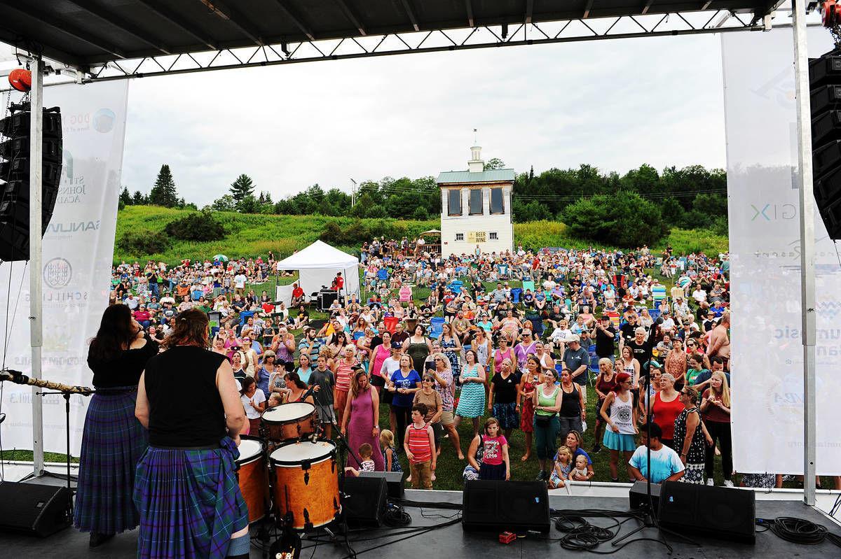 Albannach Draws Record Crowd To Levitt AMP St. Johnsbury Music Series