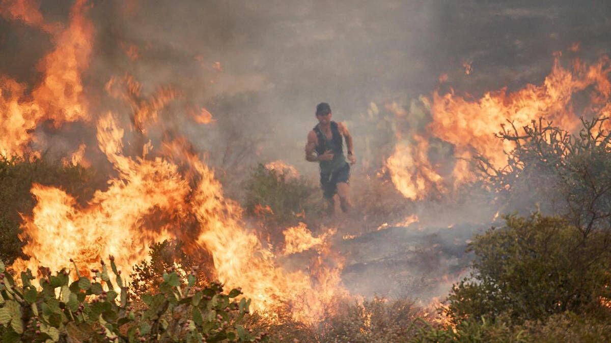 St. J Native Fights Wildfire In Viral Video