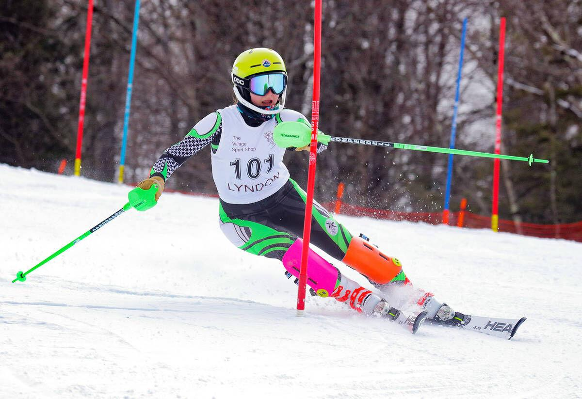 Thursday's Vermont H.S. Roundup: St. J's Zschau Second, Anderson Third In NVAC Slalom