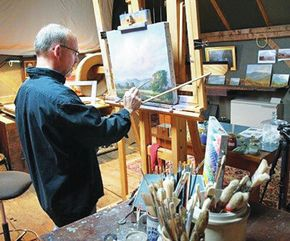 St. Johnsbury Athenaeum Hosts Lecture On Materials Used By Plein Air Painters