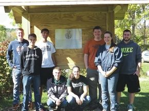 Woodsville NHS students perform community service